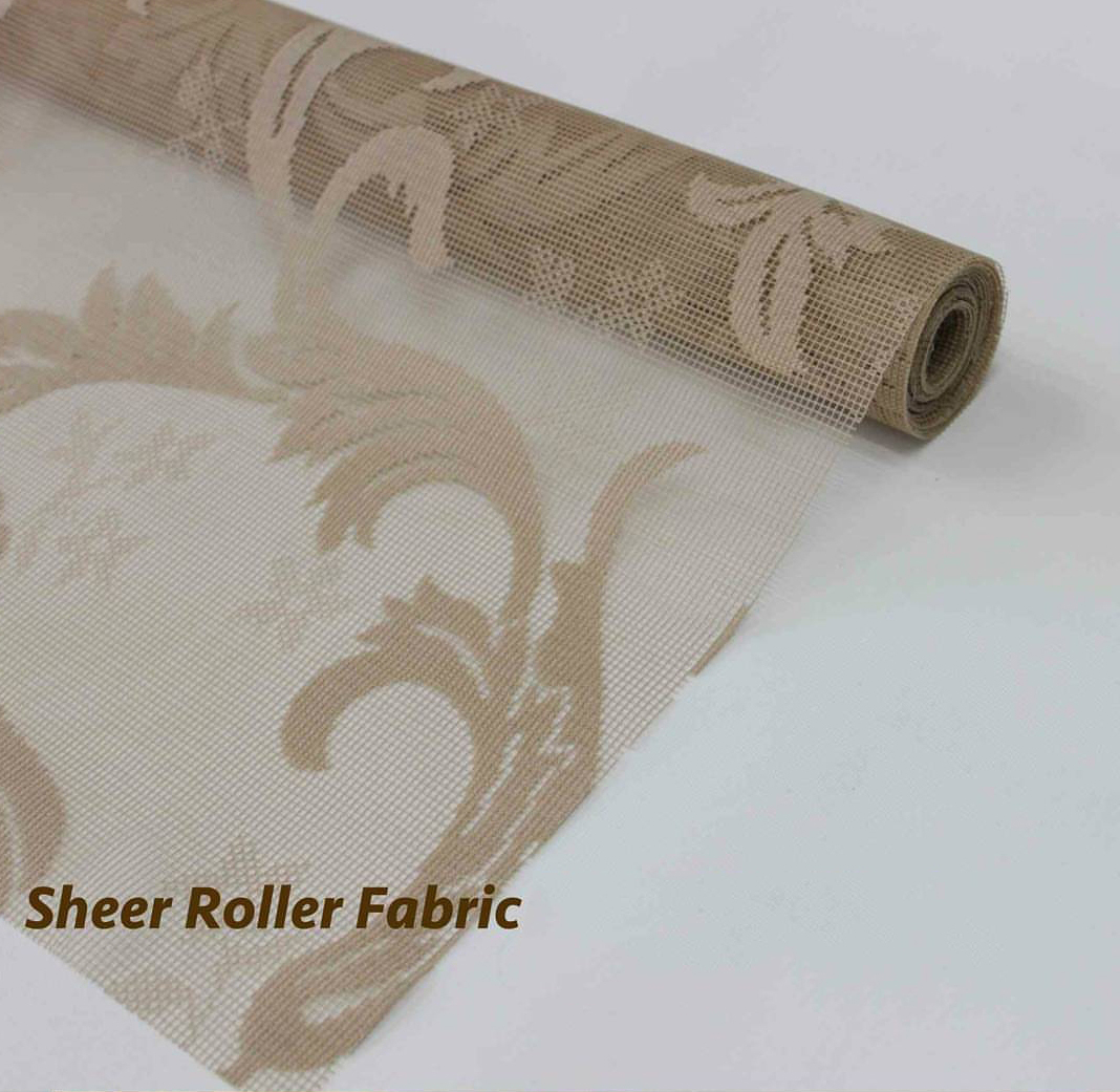 Sheer Fabric - Double Roller Blinds