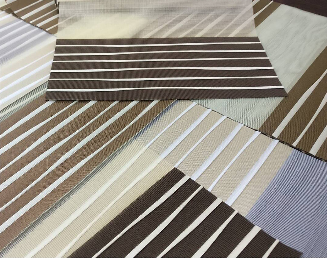 View Photo: Zebra Blinds - Pleated Waves Collection