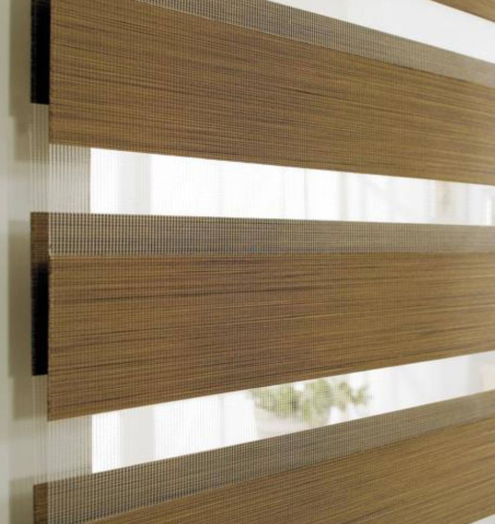 View Photo: Zebra Blinds - Wood Look Collection