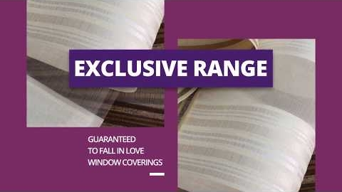Watch Video: Exclusive Range Of Fabrics - Forever Blinds