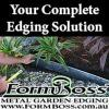 Formboss Metal Garden Edging
