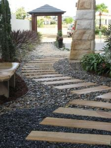 Contemporary Metal Garden Edging
