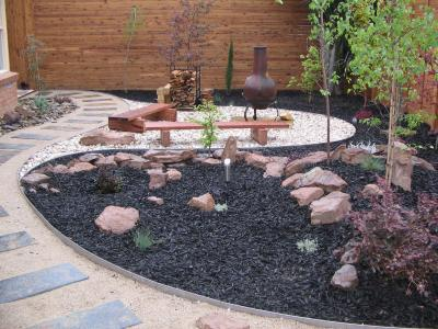 Landscape Metal Edging Design