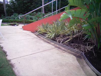 View Photo: Safe Metal Edging Garden Design