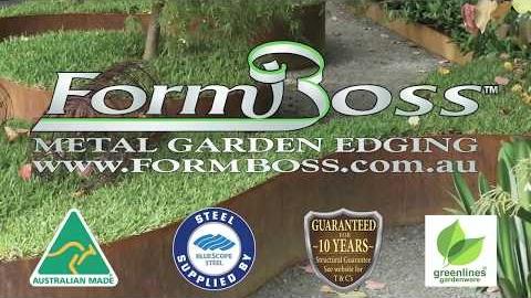 Watch Video: FormBoss Garden Edging Installation