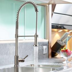 View Photo: Swedia Prima Tall Sink Mixer With Flexi Hose and Veggie Spray