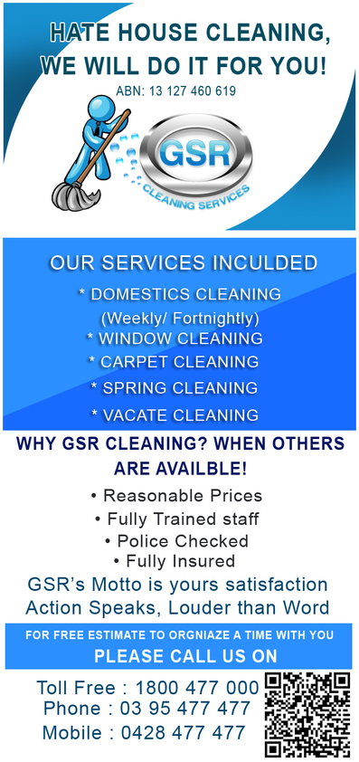 View Brochure: Trusted and Reliable Home Cleaning Servies