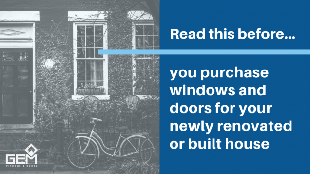 Read Article: Read This Before You Purchase Windows and Doors
