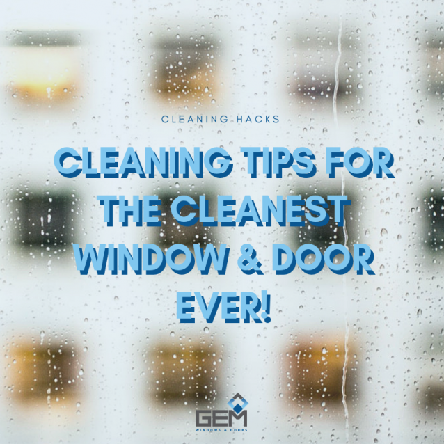 Make your windows and doors look good as new without breaking the bank!