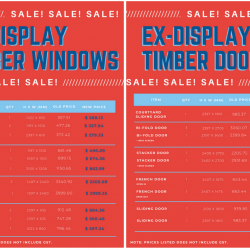 View Photo: Ex-display Timber Windows and Doors
