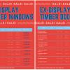 Ex-display Timber Windows and Doors
