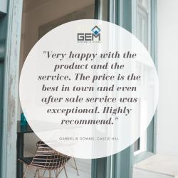 View Photo: GEM Windows & Doors Castle Hill Showroom Reviews