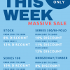 MASSIVE ONE WEEK SALE!
