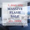 Massive Sale - 2 Days Only - Offer ends Sat 14 Mar at 3pm
