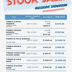 View Photo: Mulgrave Showroom - STOCK SALE