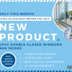 View Photo: Save 5% on our new uPVC product