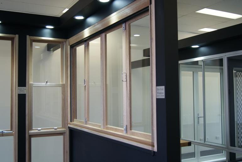 View Photo: Timber Window and Door Section - Castle Hill Showroom