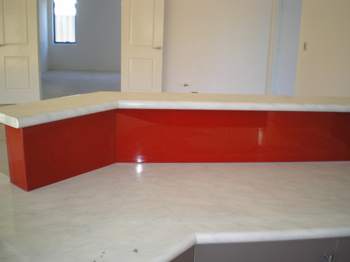View Photo: Glass Splashback Joondalup