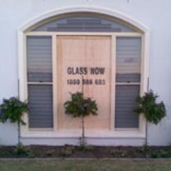 View Photo: Broken window glass