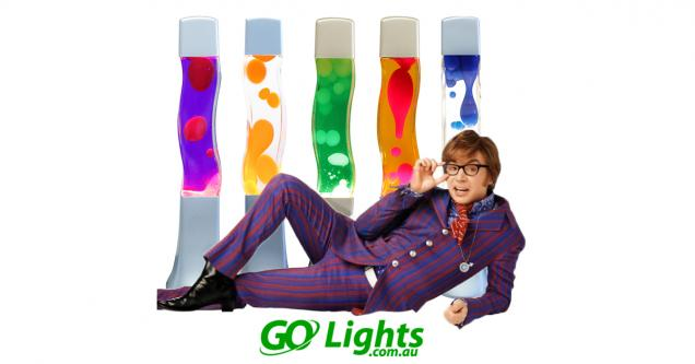 Read Article: Get Groovy with our Lava Lamps exclusive to Go Lights