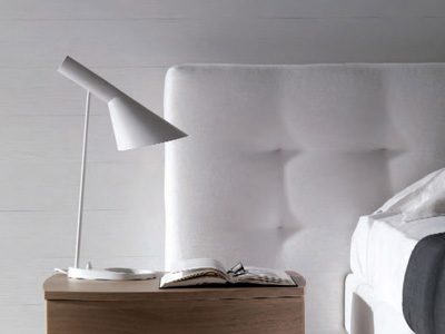 Replica AJ Table Lamp by Arne Jacobsen 55cm In White