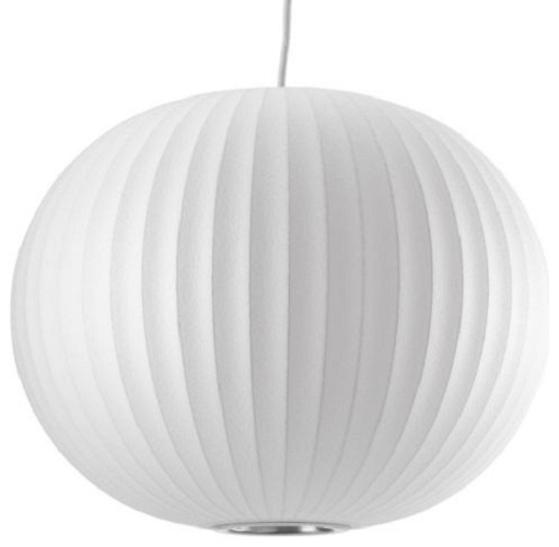 Replica George Nelson Bubble Lamp Ball Pendant Light White 50cm