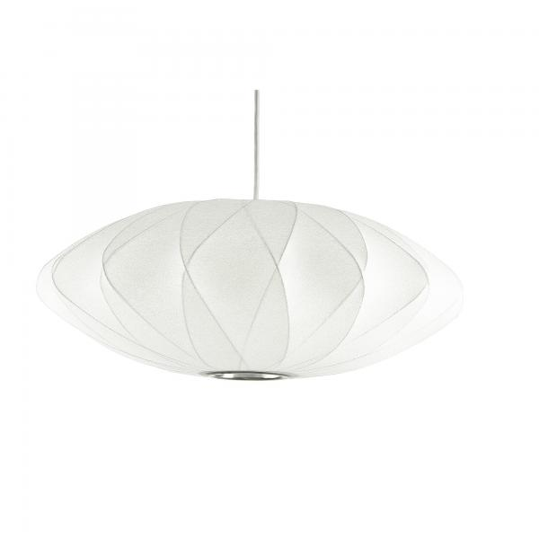 Replica George Nelson Bubble Lamp Criss Cross Saucer Pendant Light White 40cm & 63cm