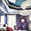 Replica George Nelson Bubble Lamp Criss Cross Saucer Pendant Light White 40cm & 63cm in Bedroom