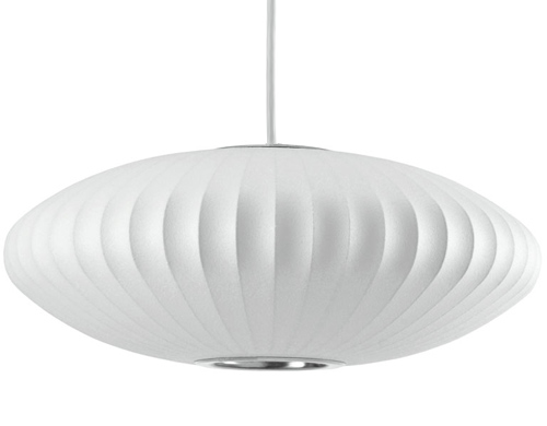 View Photo: Replica George Nelson Saucer Bubble Pendant Lamp Light White