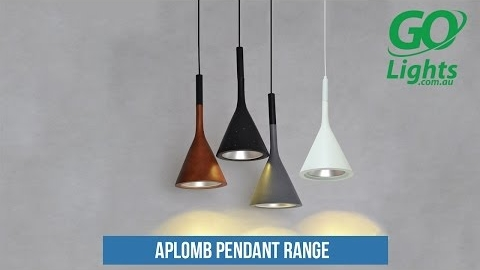 Watch Video: Exclusive to Go Lights Replica Designer Pendant Lighting - Aplomb Foscarini Lucidi & Pevere