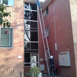 View Photo: When high ladder work is done