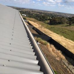 View Photo: Grayson's Gutter Guard Geelong on a roof in Highton.