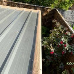 View Photo: One of our polymesh gutter guards