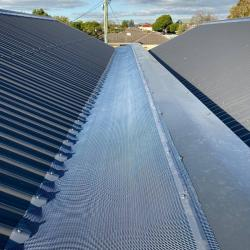View Photo: Gutter guard mesh on a central roof channel