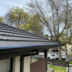 View Photo: TRIPLE-G gutter guard on a roof