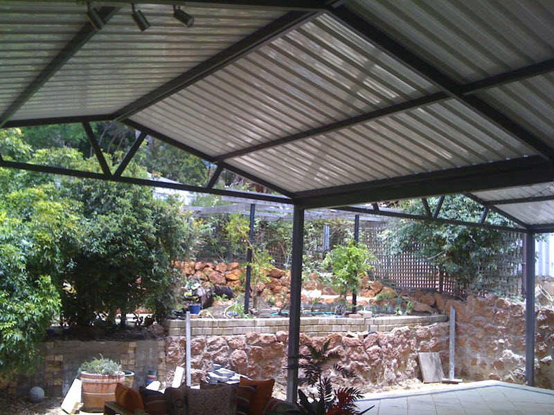 A Double Gable Patio - Great Aussie Patios