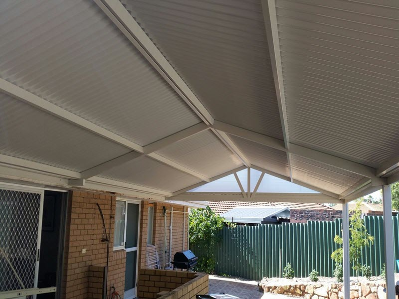 View Photo: All Colourbond gable patio 2 - Great Aussie Patios