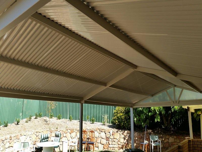 All Colourbond gable patio 3 - Great Aussie Patios
