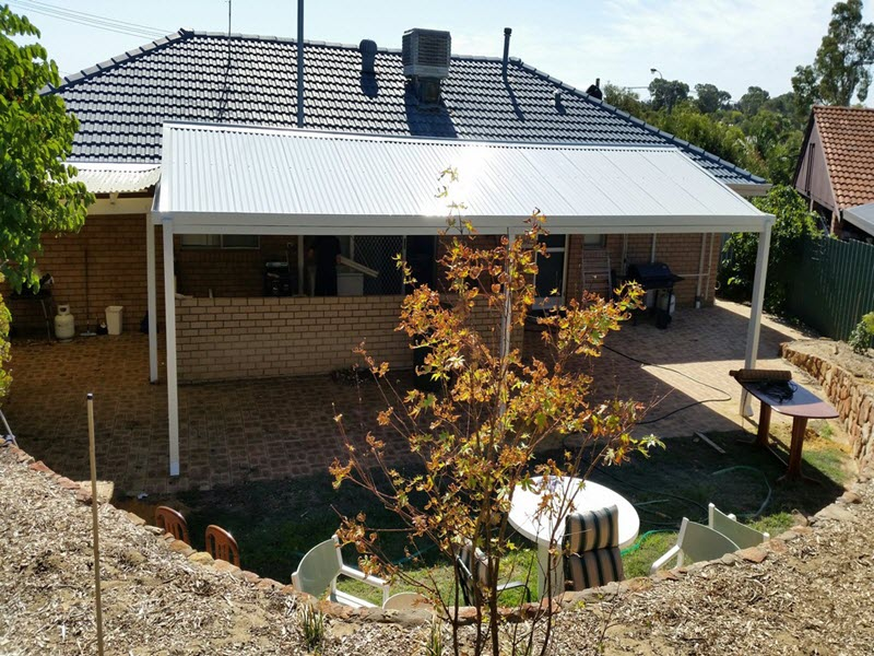 View Photo: All Colourbond gable patio - Great Aussie Patios