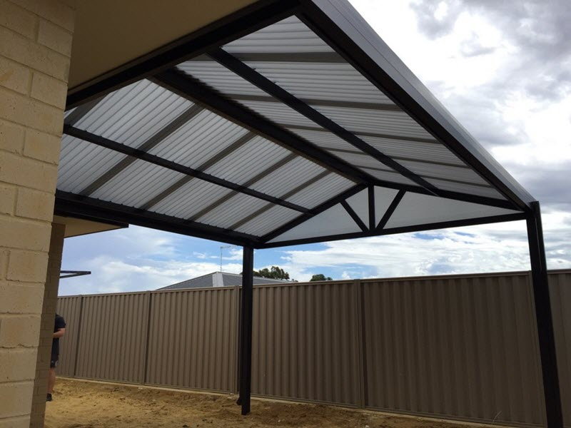 View Photo: All poly gable 2 - Great Aussie Patios