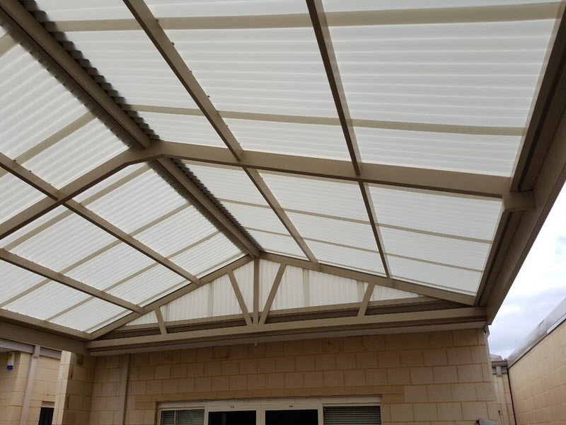 View Photo: All poly gable 3 - Great Aussie Patios