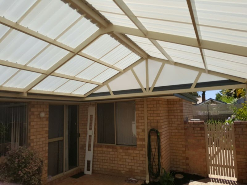 View Photo: All polycarbonate Gable patio 5 - Great Aussie Patios