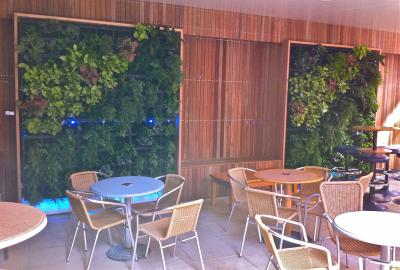 View Photo: Commercial Timber Panelling Outdoor
