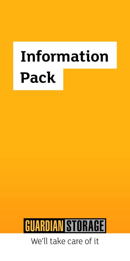 Browse Brochure: Guardian Storage Information Pack