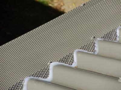 Corrugated Iron Gumleaf Gutter Protection Photo Gumleaf