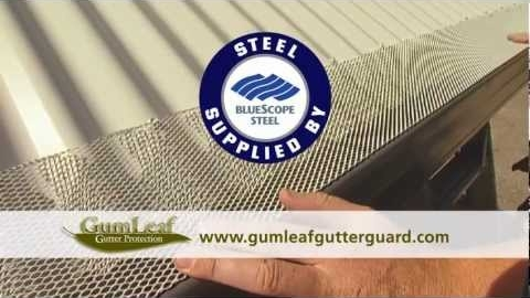 Watch Video: Gumleaf Gutter Guard. Protection like no other