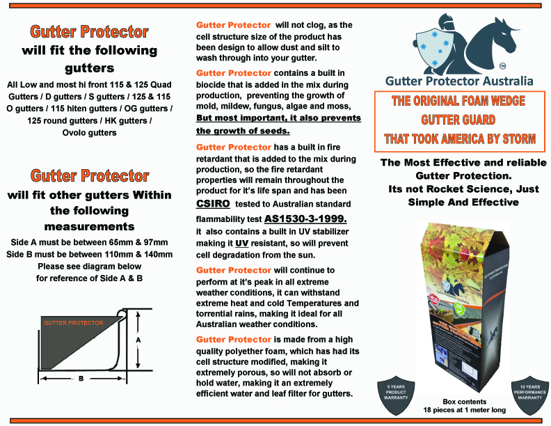 View Brochure: Gutter Guard