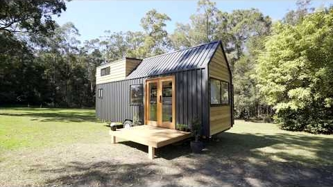 Watch Video: Hauslein Tiny House Co 'Sojourner' Tiny House Tour