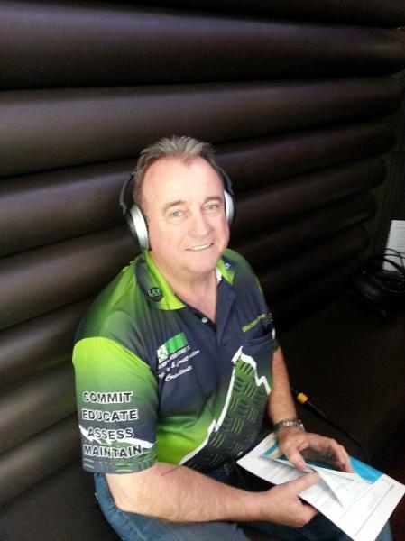 Howard Ryan guest on Eagle Waves Radio