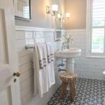 Read Article: Change your bathrooms look inexpensively with painted tiles